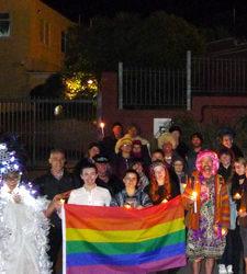 PrideNZ.com: Chechnya Vigil