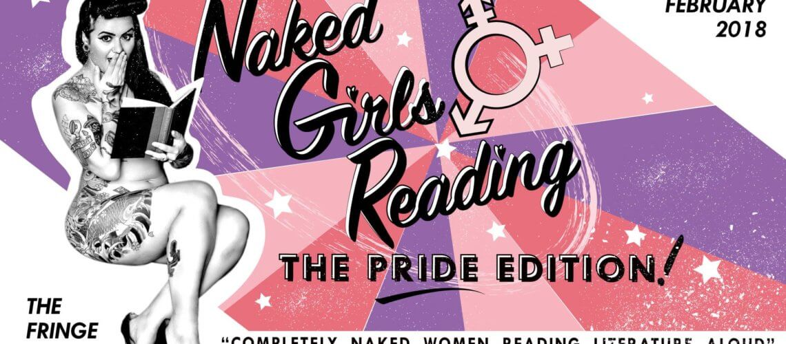 Naked Girls Reading: The Pride Edition – 17 February 2018 – Wellington