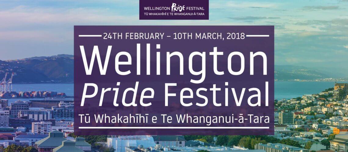Wellington Pride Festival – 24 February to 10 March 2018