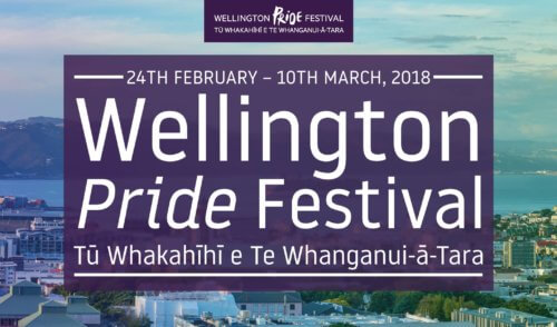 Wellington Pride Festival – 24 February to 10 March 2018