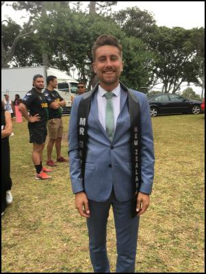 HIV Positive Man Wins Mr Gay New Zealand