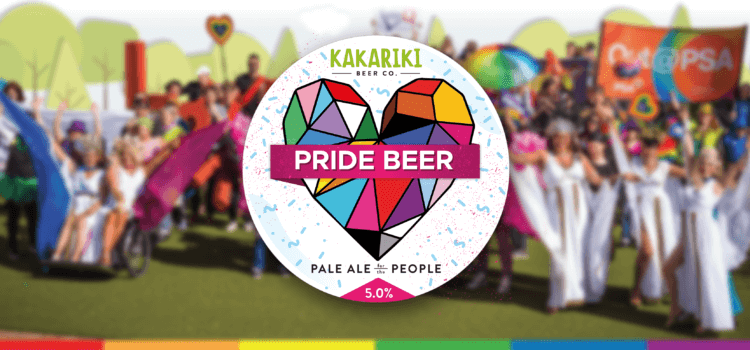Wellington raises a beer for Pride Festival – 24 February 2018