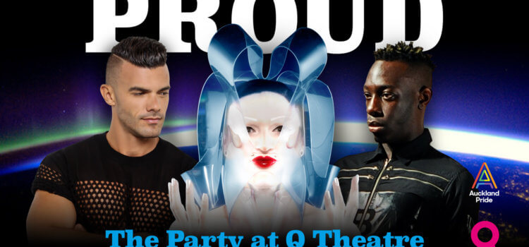 International Stars Headline New Zealand's Biggest Queer Party – 17 February 2018