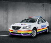 Police launch one-of-a-kind Rainbow police car for Pride Parade