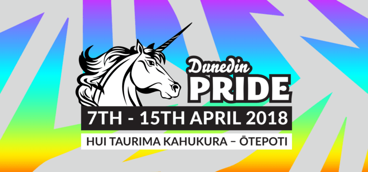 Dunedin Pride – 5 to 15 April 2018