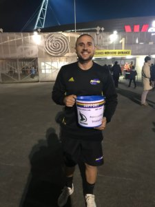 Social Media: Hurricanes Bucket Collection For NZ Falcons & LGBTI Youth Groups