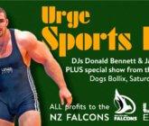 URGE Sports Kit Night – 12 May 2018