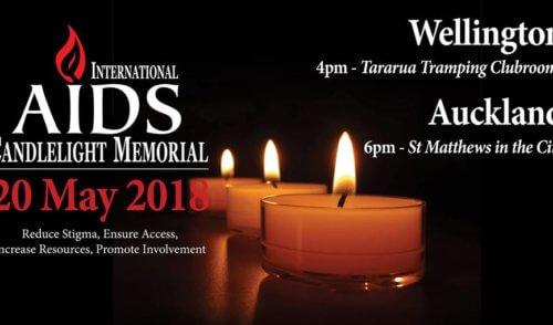 International AIDS Candlelight Memorial 2018 – 20 May 2018