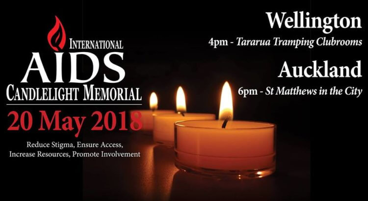 International AIDS Candlelight Memorial 2018 – 20 May 2018