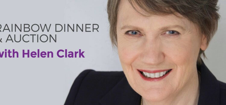 Rainbow Dinner And Auction With Helen Clark – 9 September 2018