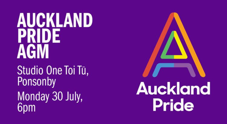 Auckland Pride AGM – 30 July 2018