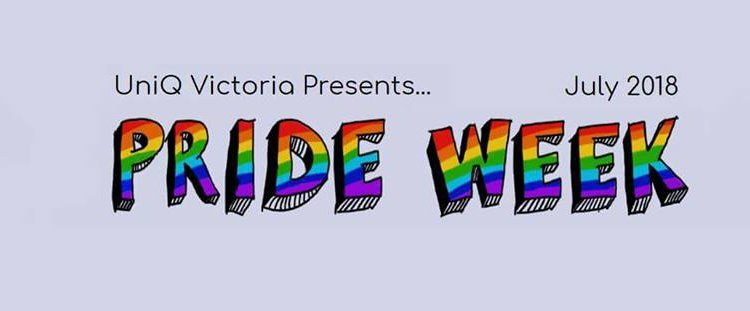 UniQ Victoria's Pride Week – 23 to 28 July 2018