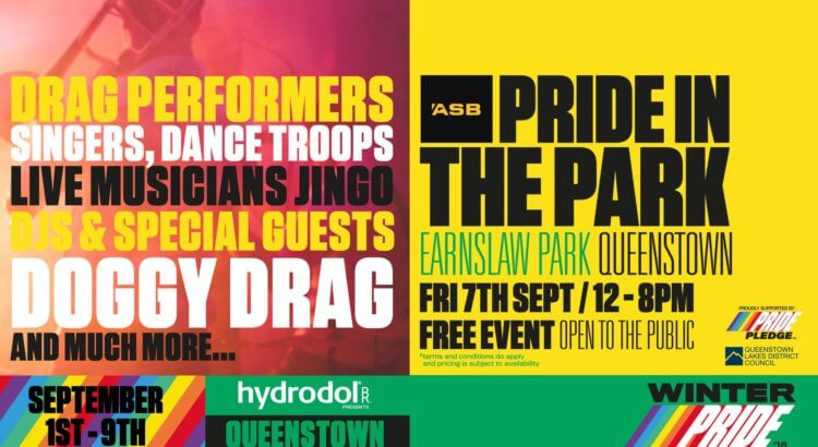 Winter Pride '18 – ASB Pride in the Park – Queenstown – 7 September 2018