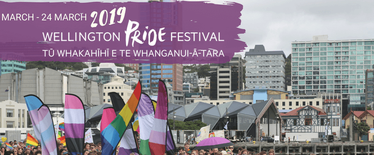 Wellington Pride Festival – 8 March – 24 March 2019