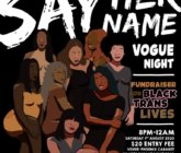 Say Her Name – Vogue Night – Auckland – 1 August 2020